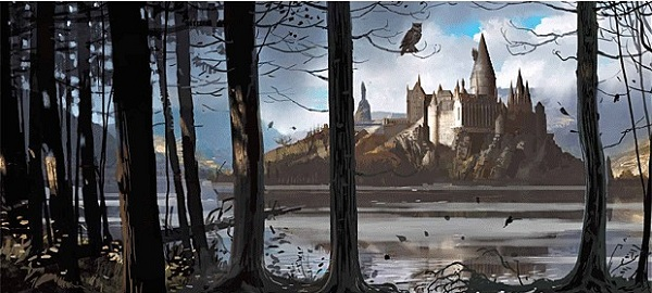 Harry Potter Book Art Hogwarts harry potter pts hogwarts