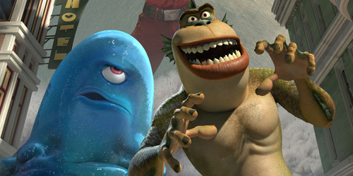 Monsters Vs Aliens Boasts Awesome Cast